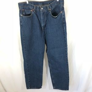 Levi's 550s Med Washed 36x32 Very Good Condition